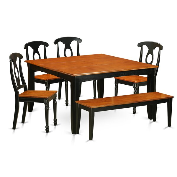 Pilning Modern 6 Piece Dining Set by August Grove