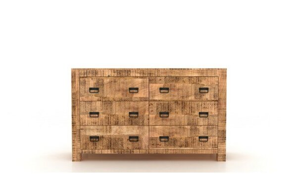 Roselli 6 Drawer Double Dresser by Loon Peak