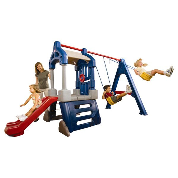 Clubhouse Swing Set by Little Tikes