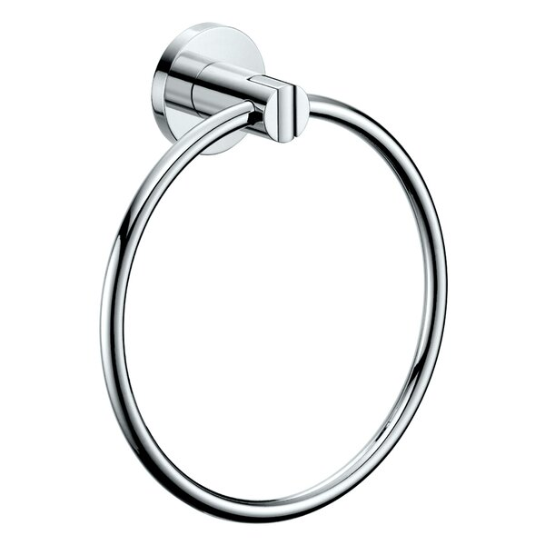 Channel Wall Mounted Towel Ring by Gatco
