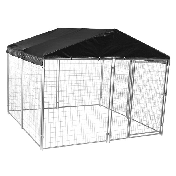 Alina™ Modular Welded Wire Yard Kennel by Tucker Murphy Pet