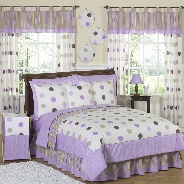 Mod Dots Purple Comforter Set by Sweet Jojo Designs