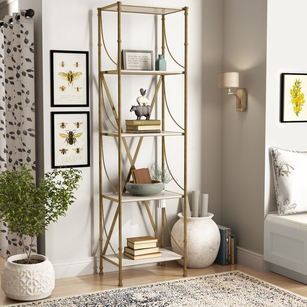Buckminster Etagere Bookcase by Willa Arlo Interiors