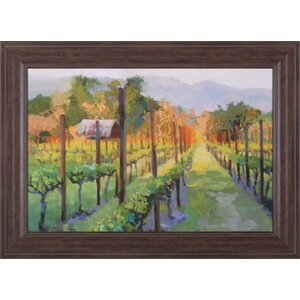 Silverado Afternoon by Christine Debrosky Framed Painting Print by Art Effects