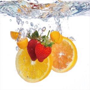 'Fruit Splash I' Graphic Art by Ebern Designs