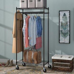 348 W Heavy Duty Garment Rack
