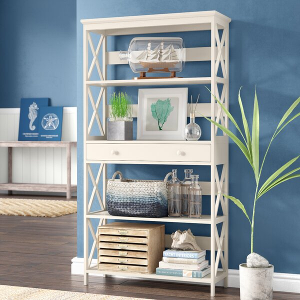 Gracelynn 5 Tier Etagere Bookcase By Beachcrest Home