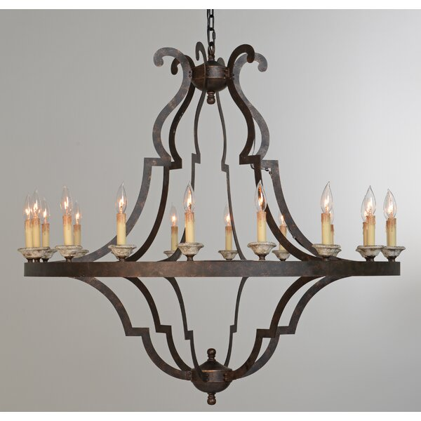 Marie 18-Light Chandelier by Bay Isle Home