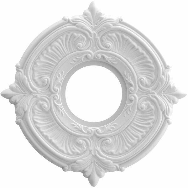 Attica 0.75H x 10W x 10D Ceiling Medallion by Ekena Millwork
