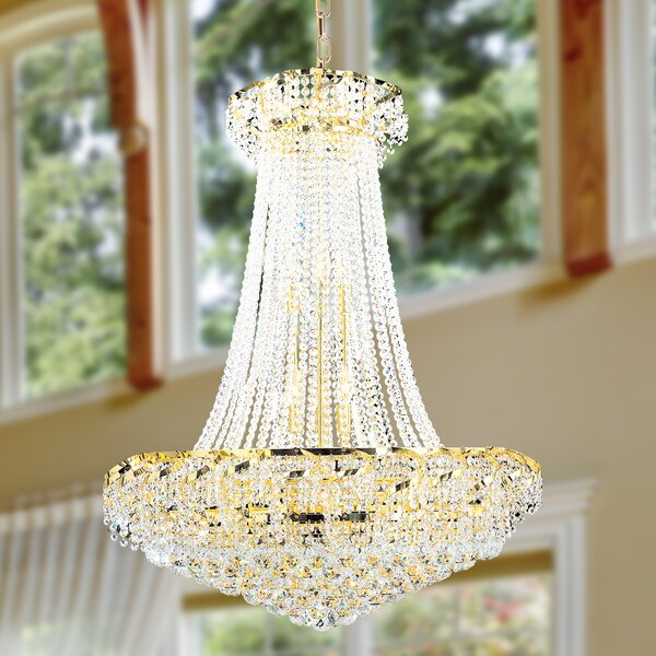 Carson 18-Light Chandelier by House of Hampton