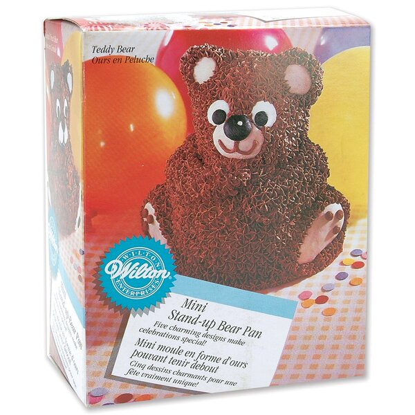 Teddy Bear Mini 3D Ball Pan by Wilton