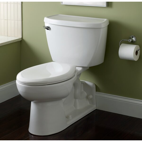 Flowise 1.1 GPF Elongated Two-Piece Toilet by American Standard