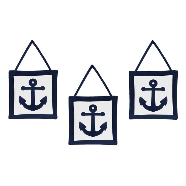 Anchors Away Wall Hangings by Sweet Jojo Designs