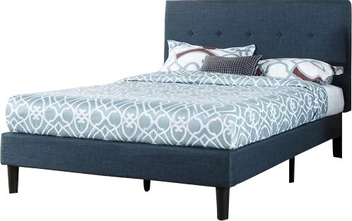Looking for Jed Button Detailed Upholstered Platform Bed By Andover Mills Savings