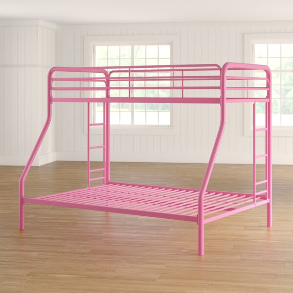 Jeanna Twin Over Full Bunk Bed by Zoomie Kids