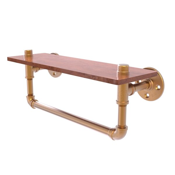 Pipeline Wall Shelf by Allied Brass