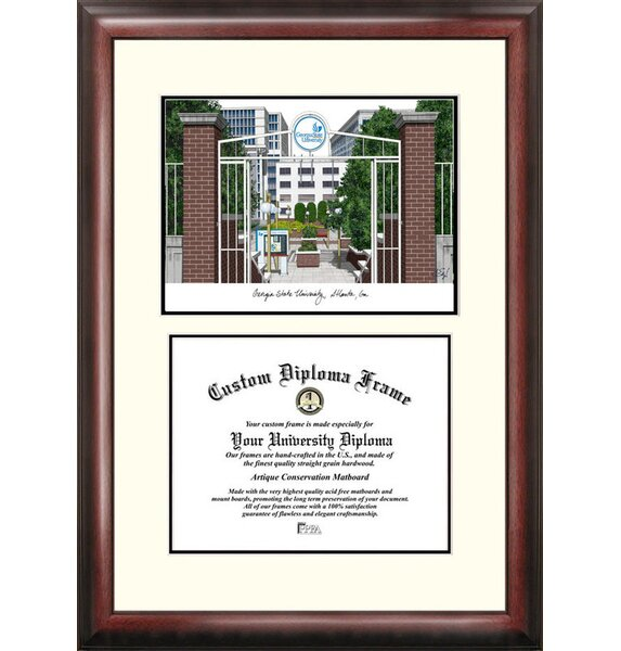 NCAA Scholar Diploma Picture Frame by Campus Images
