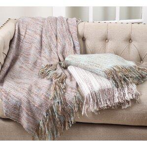 Maricela Fringe Hem Blanket