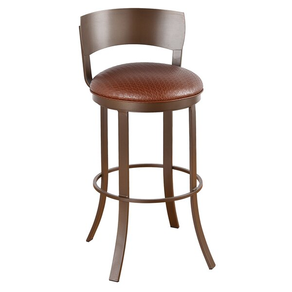 Patricia 30 Swivel Bar Stool by Winston Porter