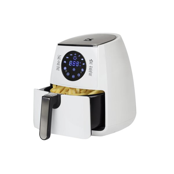 Digital Airfryer With Dual Layer Rack By Kalorik.