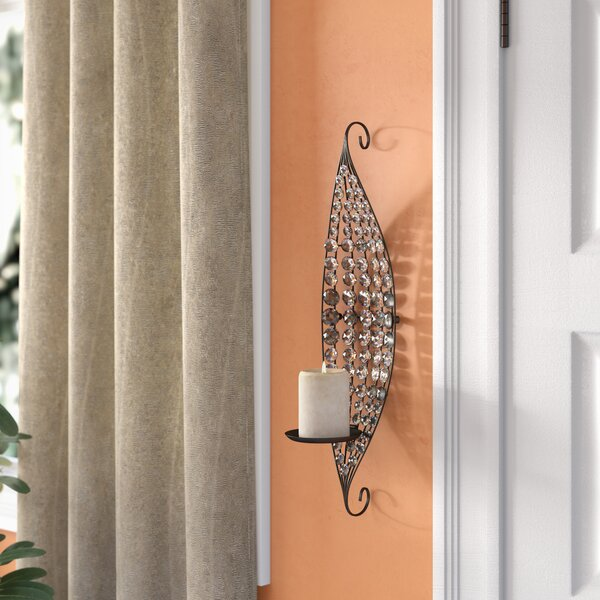 Decorative Metal Sconce by Latitude Run