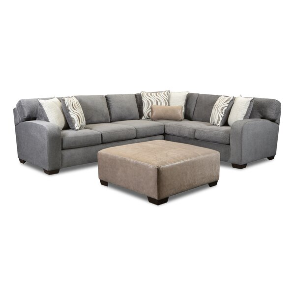 Thale Right Hand Facing Sectional With Ottoman By Ebern Designs