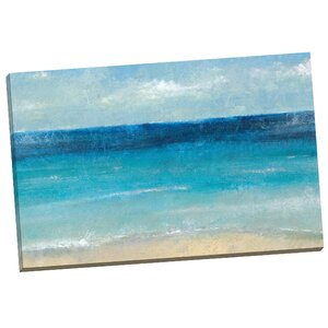 'Cote D'Azure' Painting Print on Wrapped Canvas by Mercury Row