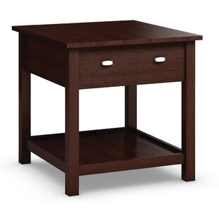Carabus End Table With Drawer