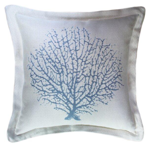 Mcgowen Coral Reef Sunbrella Indoor / Outdoor Throw Pillow