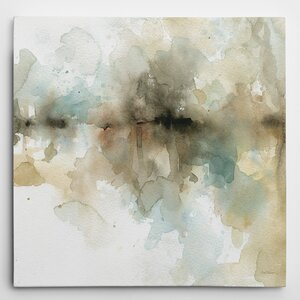 'Island Mist II' Painting Print on Wrapped Canvas by Wrought Studio