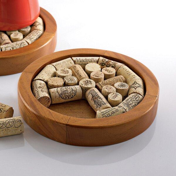 Round Wine Cork Trivet Kit by Wine Enthusiast