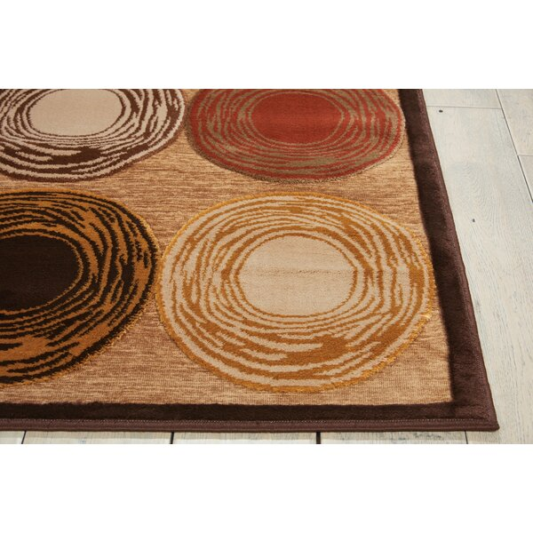 Bel Air Prelude Brown Area Rug by Kathy Ireland Home