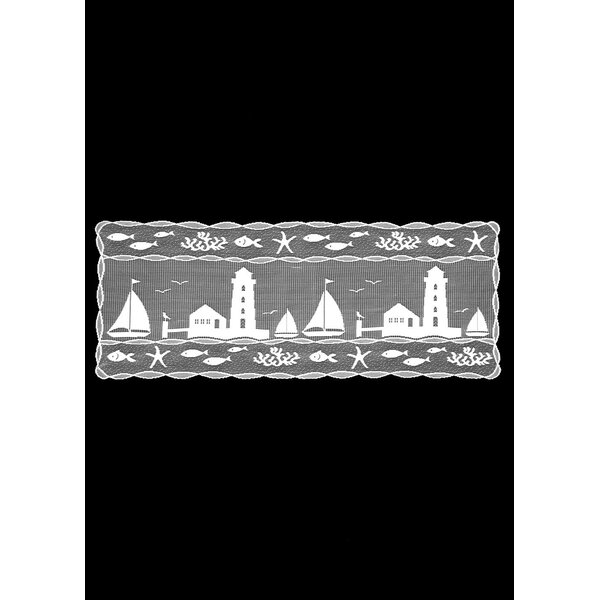Harbor Lights Table Runner by Heritage Lace