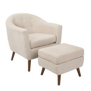 Chair & Ottoman Sets You\'ll Love | Wayfair