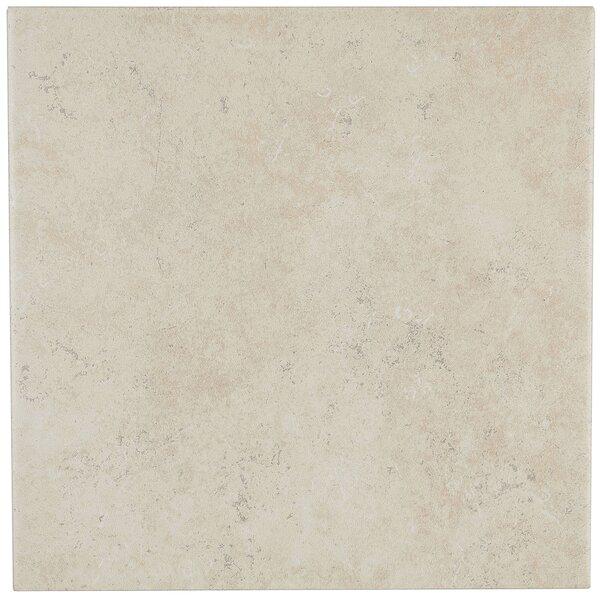 Jacobson 12 x 12 Ceramic Field Tile in Bone by Itona Tile