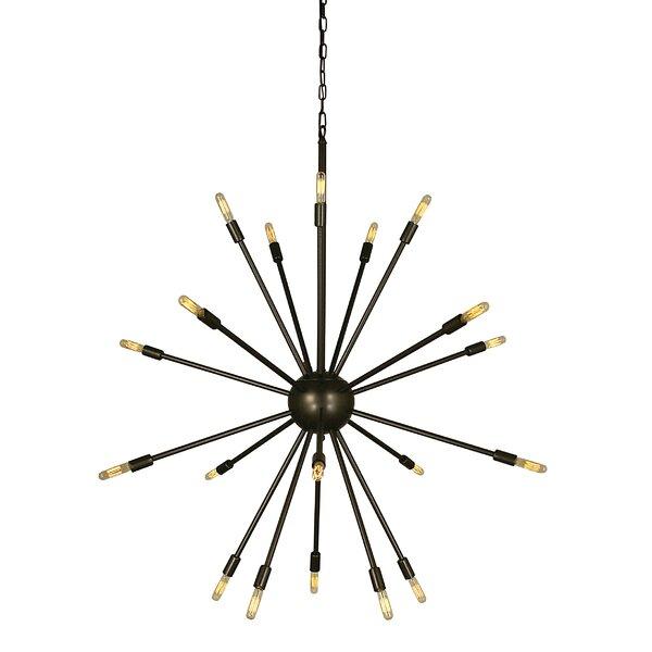 Frizzell 24 - Light Sputnik Sphere Chandelier By George Oliver