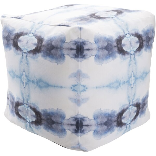 Amya Upholstered Pouf by Bungalow Rose