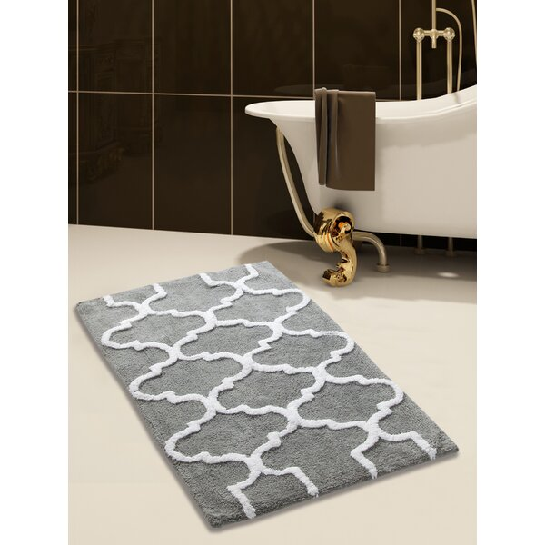 Harriette Bath Rug by Three Posts