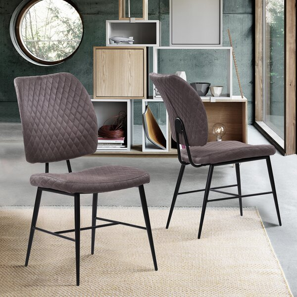 Claribel Upholstered Dining Chair (Set of 2) by Williston Forge