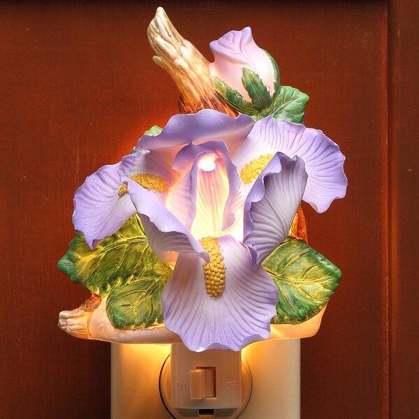 Iris Night Light by Cosmos Gifts