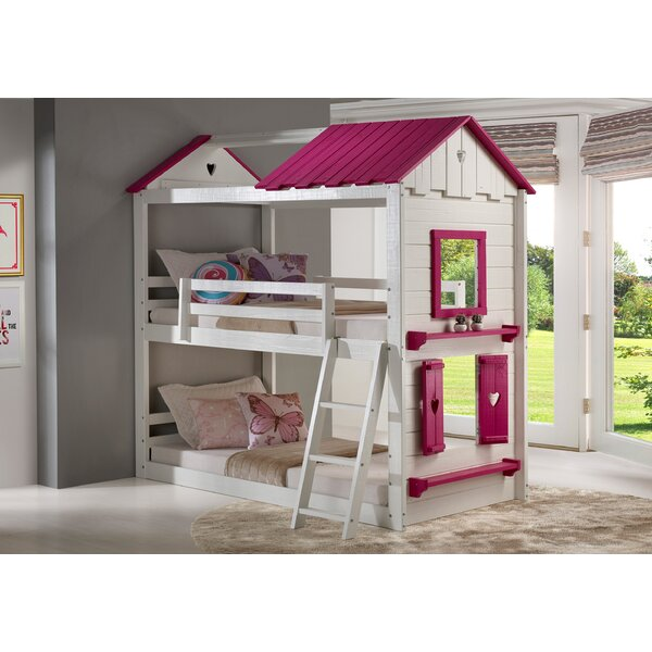 Schooley Twin over Twin Bunk Bed by Zoomie Kids