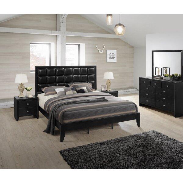 Gloria Platform 5 Piece Bedroom Set by Roundhill Furniture