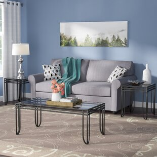 Reviews Myra 3 Piece Coffee Table Set By Winston Porter