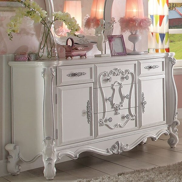 Ludden 5 Drawer Combo Dresser by A&J Homes Studio