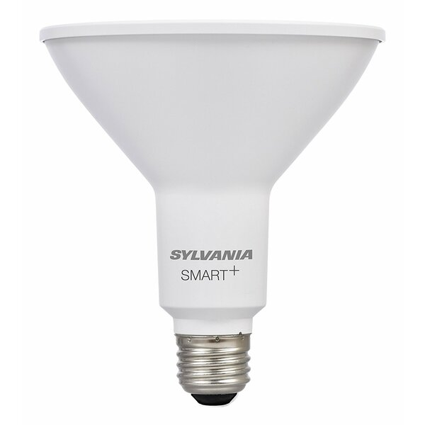 13 Watt (120 Watt Equivalent), PAR38 LED Smart Light Bulb, Warm White (3000K) E26/Medium (Standard) Base by Sylvania SMART+