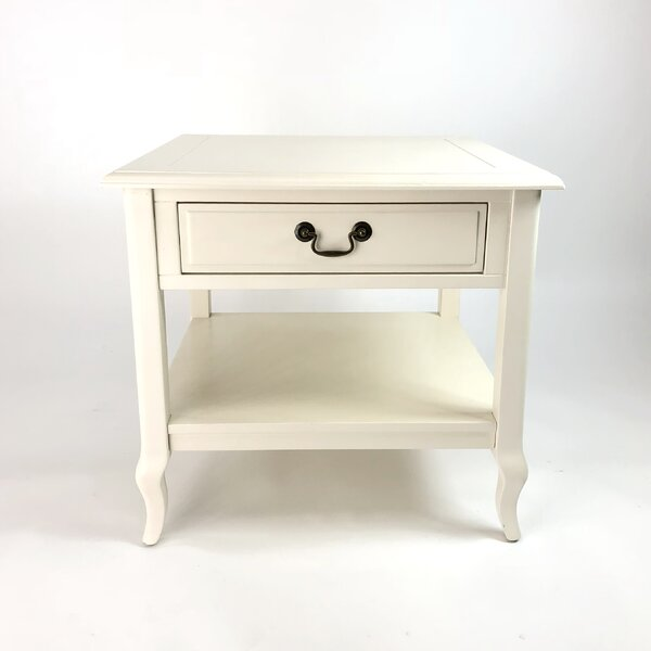 Holly Springs End Table with Storage by Ophelia & Co.