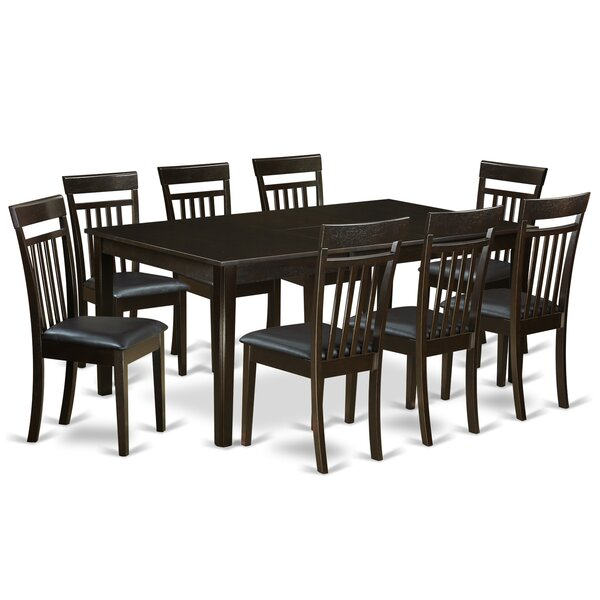 Krieg 9 Piece Extendable Dining Set by Red Barrel Studio Red Barrel Studio