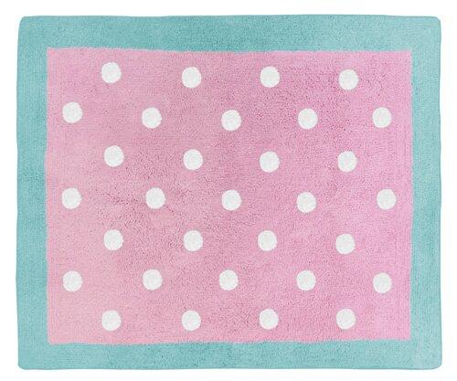 Skylar Hand-Tufted Pink Area Rug by Sweet Jojo Designs