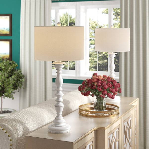 Pursell 32.5 Table Lamp (Set of 2) by Three Posts