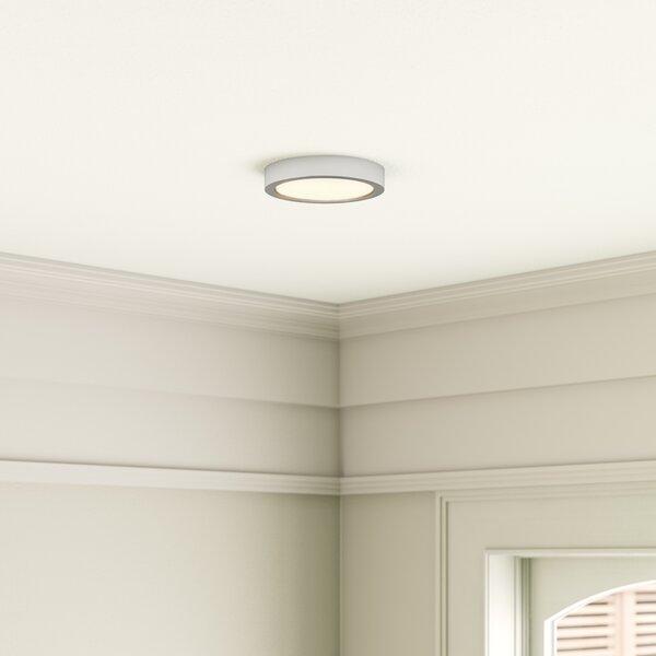 Zipcode Design Eastham 1 Light 6 Simple Circle Led Flush Mount Reviews Wayfair